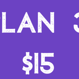 Join Now For $15